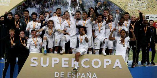 """El 'culé' Sport felicita al Madrid por 'supercampeón' y los fanáticos del Barça se ponen como hienas: """"¿Estáis tontos?"""""""