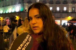 """La diáspora venezolana en la Puerta del Sol: """"Me dieron ganas de llorar al cantar el Himno Nacional"""""""