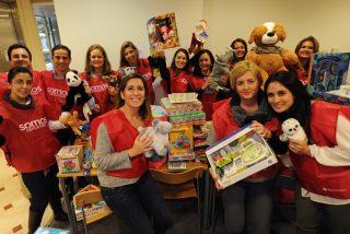 Uno de cada tres empleados del Banco Santander participan en programas de voluntariado social