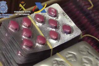 Un megaoperativo de la Guardia Civil y la Policía Nacional detiene a 47 personas que traficaban fármacos para la disfunción eréctil