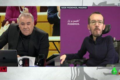 La discapacidad de Echenique desencadena una nueva crisis entre Podemos y Ferreras