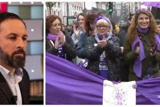 Las feminazis calientan el 8-M con amenazas a Abascal y Girauta las califica de