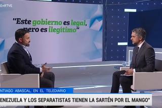 Santiago Abascal tumba al interrogador Carlos Franganillo