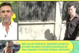 Así trataron en 'Sálvame' la muerte del exmarido de Belén Esteban: morbo, incomodidad y revelaciones dolorosas