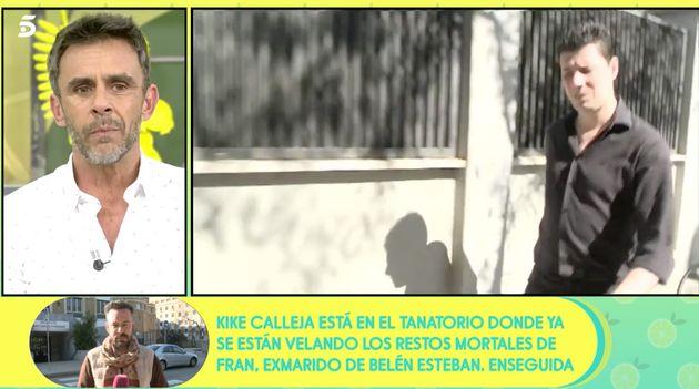 'Sálvame': la muerte de Fran Álvarez, exmarido de Belén Esteban, tratada con morbo, incomodidad y revelaciones dolorosas