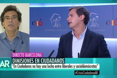 """Arcadi Espada ajusticia al """"iletrado"""" Albert Rivera a cuenta de la demolición de Ciudadanos"""