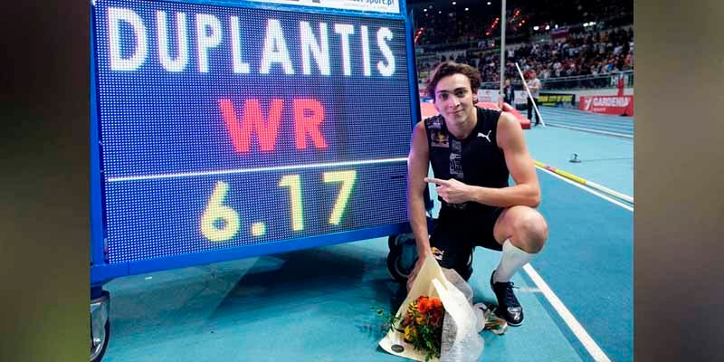 Armand Duplantis se convierte en leyenda de la pértiga con apenas 20 años