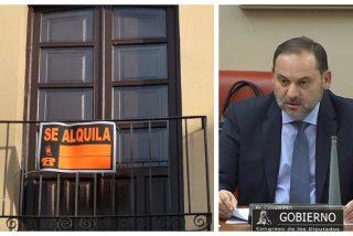 Ábalos anuncia que el Gobierno social-comunista impondrá topes a los precios del alquiler antes del verano