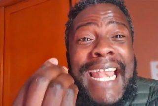 Bertrand Ndongo, 'el negro de VOX', lleva meses recibiendo amenazas de muerte mientras la izquierda enmudece