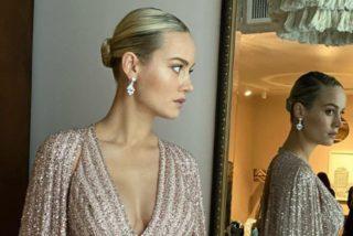 Brie Larson aparece en la alfombra roja de los Oscar y todos se fijan en lo mismo