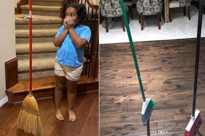 'Broom Challenge': el reto viral de las escobas que le 'flipa' a los famosos