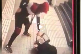 Barcelona Ciudad sin ley: brutal atraco y tremenda paliza a una mujer en el Metro, para quitarle el bolso