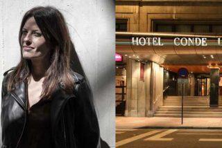 La izquierda sectaria y cateta se moviliza en León para boicotear al hotel que acoge la presentación del libro de Cristina Seguí
