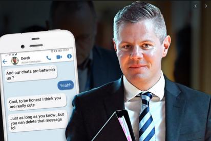 Escocia: el ministro de Finanzas dimite tras acosar a un adolescente vía móvil