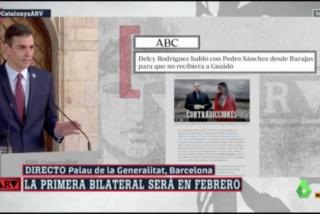 """Un Pedro Sánchez arrinconado por el 'caso Ábalos' desacredita a ABC: """"La mentira se ha confundido con el periodismo"""""""
