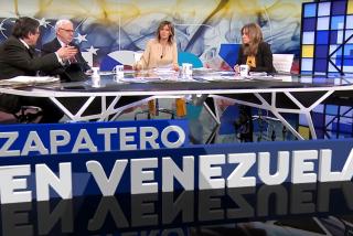 Tania Sánchez, la ex de Iglesias, se derrite en tantos elogios a Zapatero que con la que está cayendo hasta Susanna Griso la mira incrédula