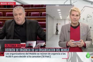La bochornosa ilusión de Ferreras cuando Pedro Sánchez, engullido por Iglesias, degrada a Guaidó