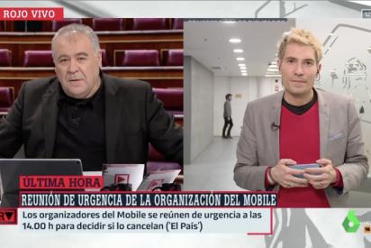 La 'ilusión' de Ferreras cuando Pedro Sánchez, engullido por Iglesias, degrada a Guaidó