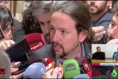 """Pablo Iglesias mantiene a Juan Guaidó como """"líder de la oposición"""" y amenaza al más puro estilo Nicolás Maduro"""