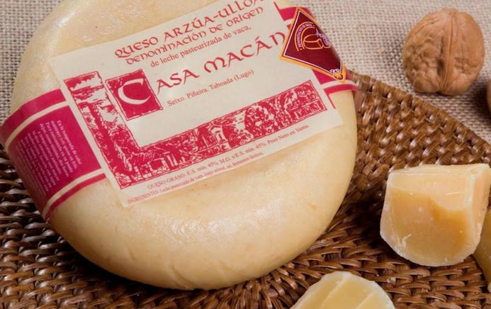 Sanidad retira del mercado los productos de la quesería gallega Casa Macán