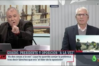 Baltasar Garzón utiliza a Ferreras para emular a Zapatero y sacar su 'tajada' de Venezuela