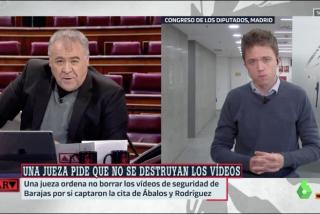 Ferreras intenta salvar al 'Pinocho' Ábalos, pero Errejón lo hunde: no debió ocultarlo
