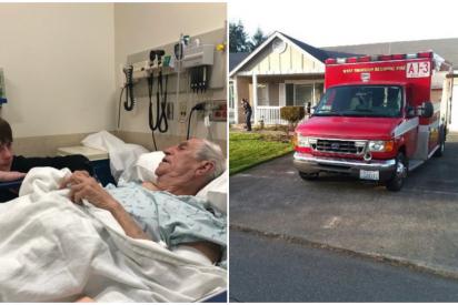 Un anciano se rompe la cadera haciendo labores domésticas y los bomberos las terminan por él