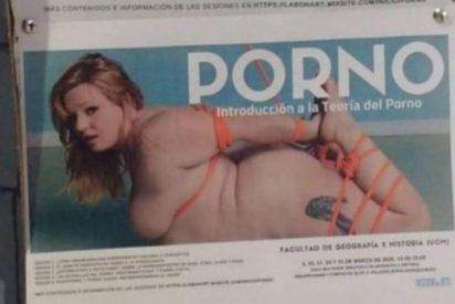 La Universidad Complutense organiza un seminario sobre porno y lo suspende a útima hora porque el cartel es 'machista'