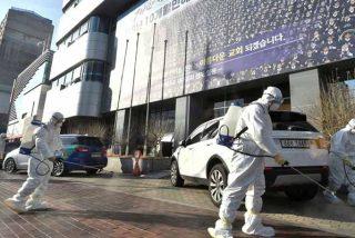 Corea del Sur, bajo un 'tsunami' de nuevos contagios de coronavirus