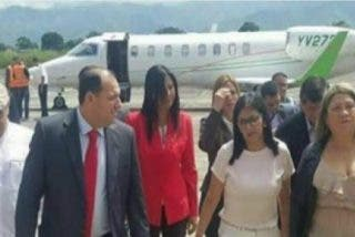Exclusiva: las 40 maletas de Delcy Rodríguez en Barajas iban abarrotadas de billetes