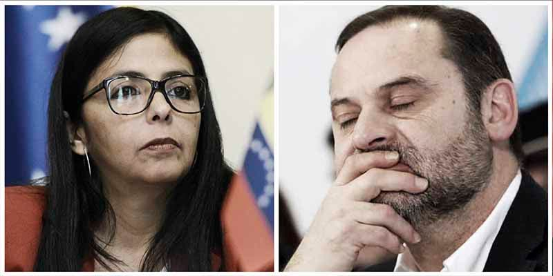 Pedro Sánchez traza su venganza contra Delcy Rodríguez por 'manchar' al fiel Ábalos