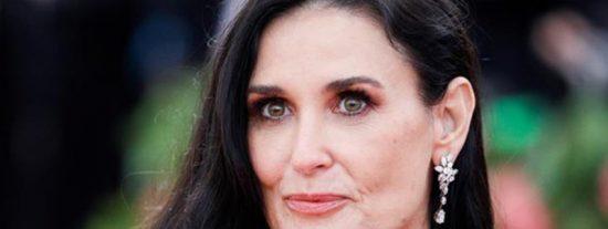 """La confesión de Demi Moore:""""Esnifé tanta cocaína que casi me abro un agujero en la nariz"""""""