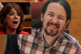 Tras tragar a Dolores Delgado como fiscal general, Pablo Iglesias oculta el tuit en el que la cubre de mierda