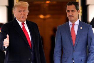 Donald Trump recibe al presidente Guaidó en el Despacho Oval  de la Casa Blanca
