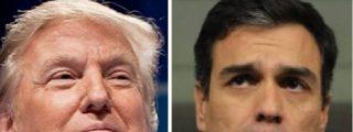 """Donald Trump pone firme a Pedro Sánchez: """"España debe aumentar su gasto en Defensa y eso no es negociable"""""""
