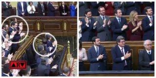 El Quilombo / García Egea vacila al comunista Garzón al verle aplaudir al rey: