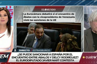 Javier Nart hunde al mentiroso Ábalos en televisión con tres 'zascas' épicos