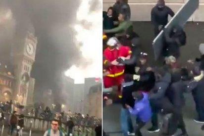 París: 50 congoleños detenidos por intentar impedir a los bomberos apagar un incendio