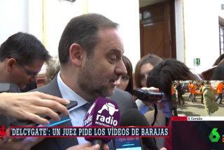 Un picado Ábalos se pone chulo con la prensa: