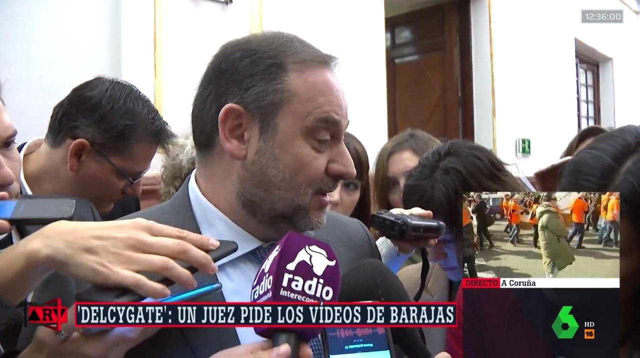 """Un picado Ábalos se pone chulo con la prensa: """"¡Qué voy a temer!"""""""