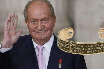 El Rey Don Juan Carlos se acuerda de Dios: