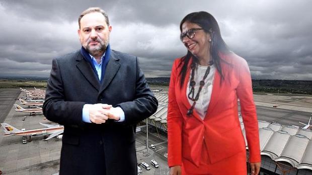 Delcy Rodríguez, la chavista del 'rollo' con el ministro Ábalos, ordenó el pago de 1,8 millones a Pablo Iglesias y sus 8 compinches