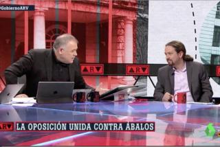 El tenso silencio y crujir de dientes de Iglesias cuando Ferreras pregunta por Ábalos, Delcy y Venezuela