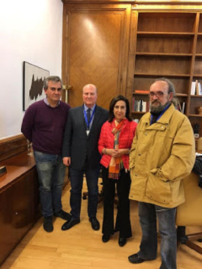 Reunión de UnionGC con el General Jefe del Gabinete Técnico de la DGGC