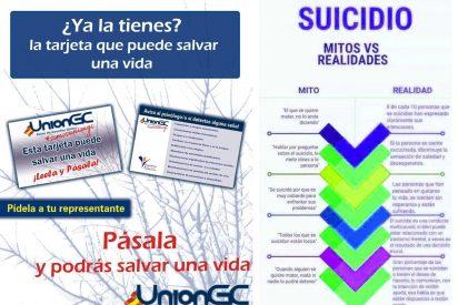 La Uniongc, inicia una campaña contra el suicidio en la Guardia Civil
