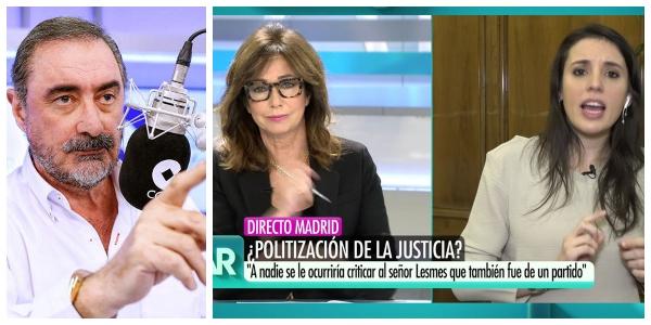 Carlos Herrera recuerda a la ministra 'chachi' que fue ella la que consiguió que las azafatas se quedaran en paro