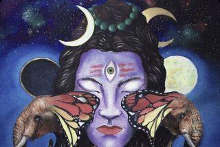 """Imagen destacada del día: Obra de arte, """"El Dios que usa la luna creciente en su cabello"""""""