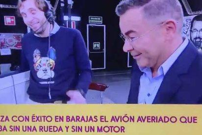 Jorge Javier Vázquez hunde a Ábalos con un lamentable chiste sobre el aterrizaje forzoso en Barajas