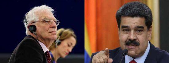 Borrell firma una carta conjunta con el canciller de Maduro para evitar la expulsión de la embajadora europea en Caracas