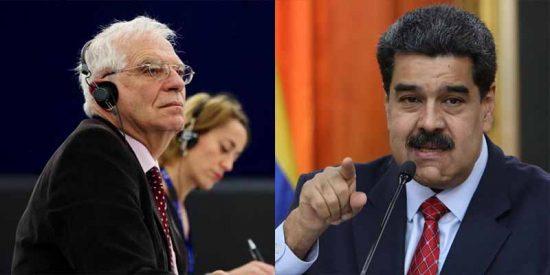 Borrell no se arrepiente del fallido plan para blanquear el fraude de Maduro